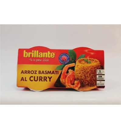Arroz Brillante Vasito Curry Pk-2