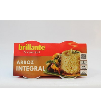 Arroz Brillante Vasito Integral Pk-2