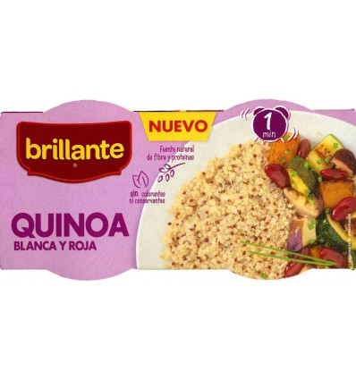 Quinoa Brillante Blanc et Rouge Pk-2x125