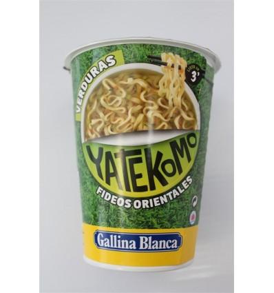 Chinese noodles Yatekomo Veggy 59 Grs