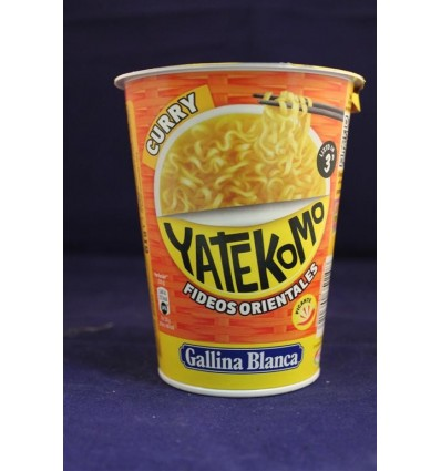 Fideos Yatekomo Vaso Curry 61 Grs