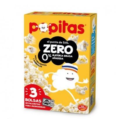 Borges Popitas Microondes Popcorn Zero 100 Grs P