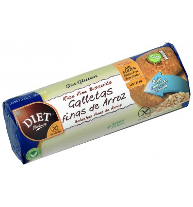 Biscuits Finas Riz Sans GlutenDiet Radisson 210 Grs