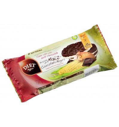 Tortitas maiz Choco Negro Y Coco 125 Grs