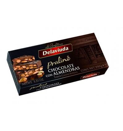Delaviuda Turron Chocolate Almendra 300 Grs