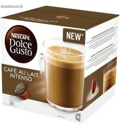 Cafe Bicafe 16 Capsules (compatible Dolce Gusto) Cafe-Lait