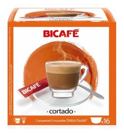 Kaffee Bicafé16 Kapseln (compatible Dolce Gusto) Cortado