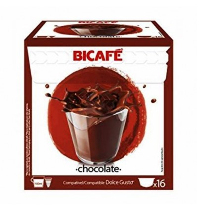 Cafe Bicafe 16 Capsulas (compatible Dolce Gusto) Chocolate
