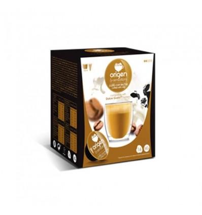 Cafe Origen 16 Capsules (compatible Dolce Gusto) Cafe avec Lait