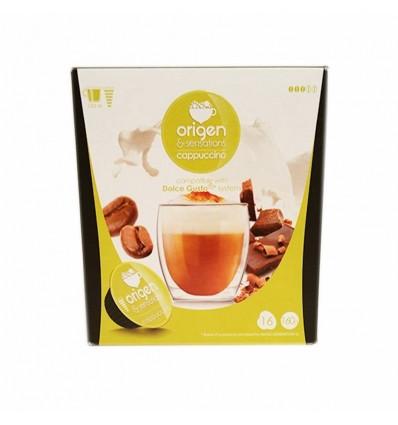 Kaffee Origen 16 Kapseln (compatible Dolce Gusto) Capuchino