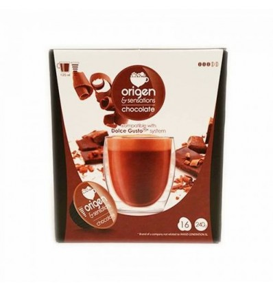 Cafe Origen 16 Capsules (compatible Dolce Gusto) Chocolat