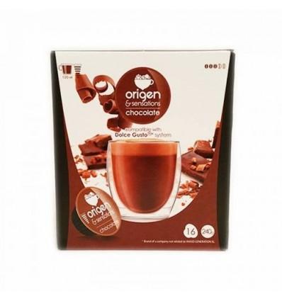 Caffè Origen 16 Cialde (compatible Dolce Gusto) Cioccolato