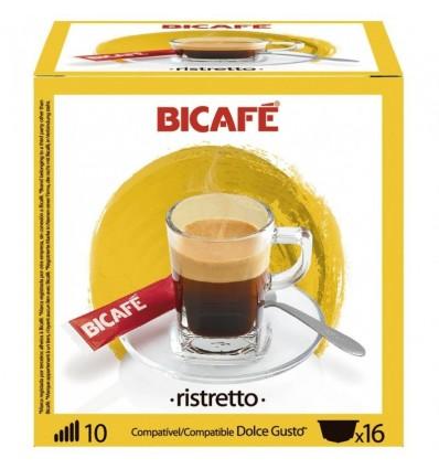 Cafe Bicafe 16 Capsulas (compatible Dolce Gusto) Ristretto