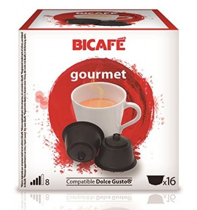 Cafe Bicafe 16 Capsulas (compatible Dolce Gusto) Gourmet