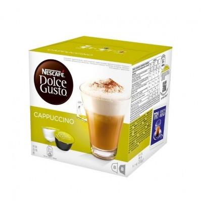 Coffee Dolce-gusto Expreso Capuchino 8+8 Capsules