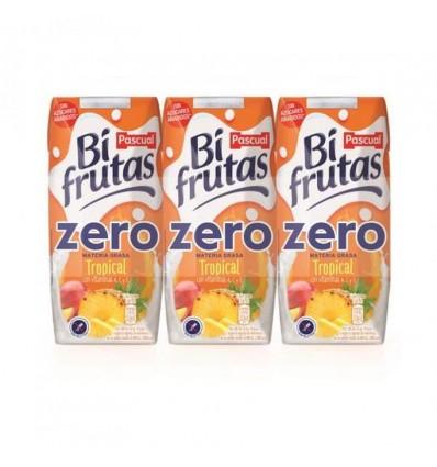 Leche+zumo Bifrutas Tropical  Zero Pk-3