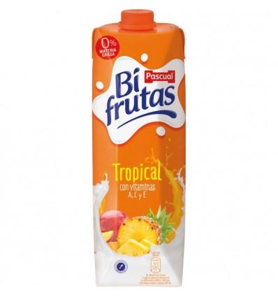 Leche+zumo Bifrutas Pascual Tropical 1L