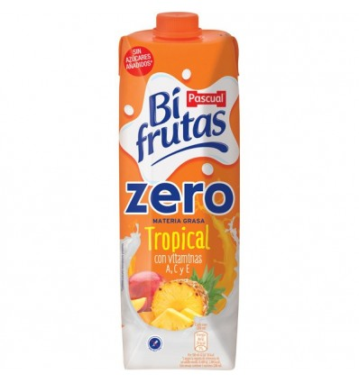 Leche+zumo Bifrutas Tropical Zero 1L