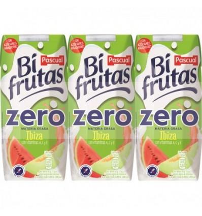 Milk + juice Bifrutas Pascual Ibiza Zero Pk-6 200 Ml