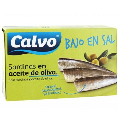 Sardines Calvo S/sal Huile Olive 84 Grs
