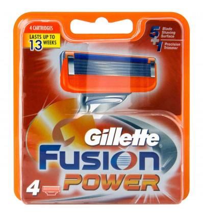 Recharge Gillette Fusion 4 Unités