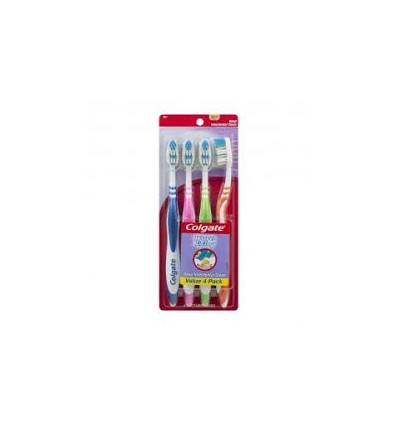 Toothbrush Colgate Extra Clean Pk 4