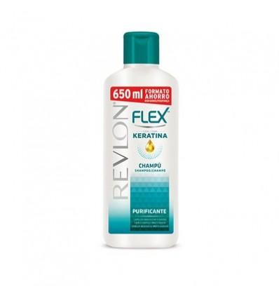 Shampooing Flex Cheveux Gras 650 Ml
