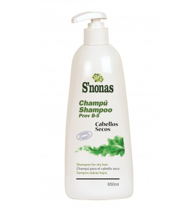 Shampooing S'nonas Prov B-5 Cheveux Secs 650 Ml