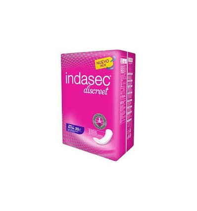 Female pads Indasec Incontinence Extra 20 Units