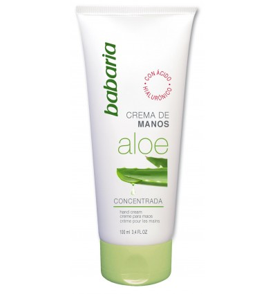 Moisturizing hands cream Babaria Aloe-vera 100 Ml
