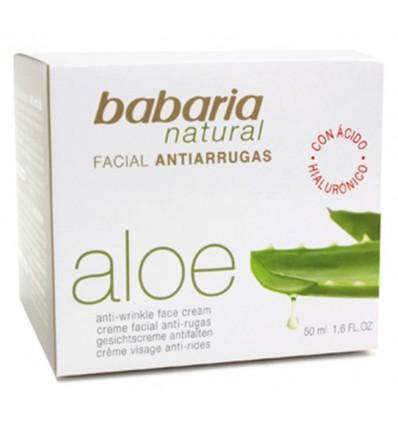 Crema Facial Babaria Aloe-vera Antiarrugas