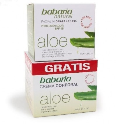 Anti rimpel gezichtscrème Babaria Aloe-vera hydratatie