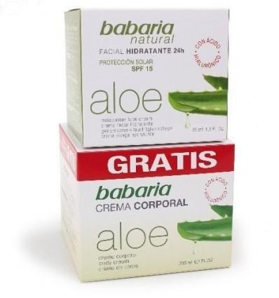 Facial cream Babaria Aloe-vera Moisturizing