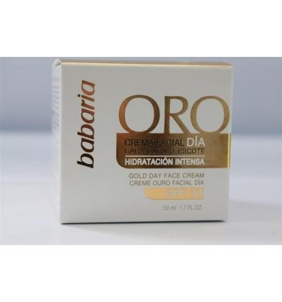 Crème Faciale Babaria Oro 50 Ml