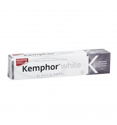 Toothpaste Kemphor White Total Family 75 Ml