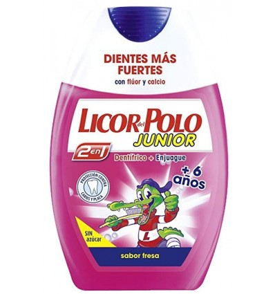Dentrifrice Licor-polo 2 En 1 EnfantsJunior