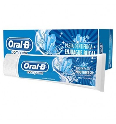 Toothpaste Oral-B Complete Enjuague 75 Ml