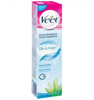 Hair removal Veet Tube Sensitive Skin 200 Units