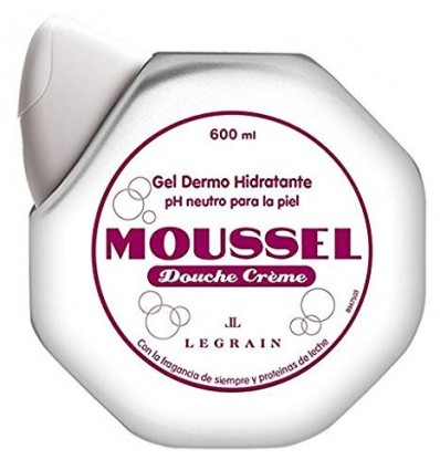 Gel Douche Moussel Creme Blanc 600 Ml