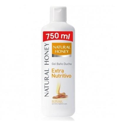 Gel Douche Natural-honey Miel 750 Ml
