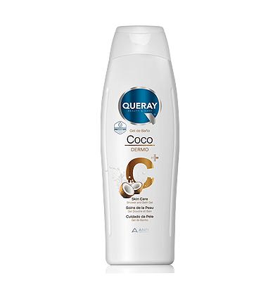 Shower Gel Queray Dermo Coconut 750 Ml