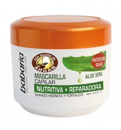 Hair Mask Babaria Nutritiva 400 Ml