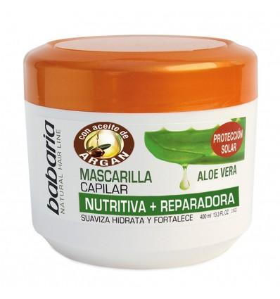 Mascarilla Capilar Babaria Nutritiva 400 Ml