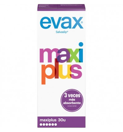 Daily Panty Liners Evax Maxi Plus 30 Units