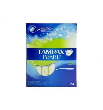 Tampones Tampax Pearl Super 24 Unidades