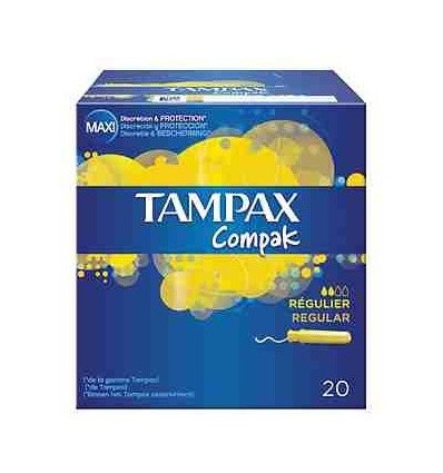 Tampons Tampax Regular 20 Unités