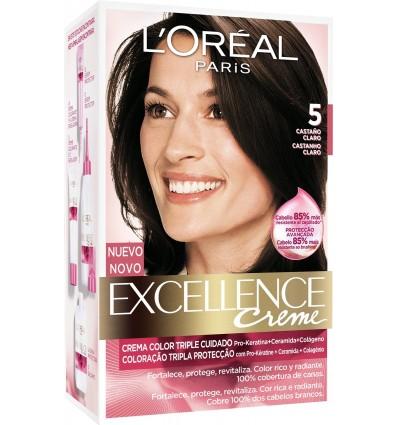 Hair dye Excellence 5 Chestnut