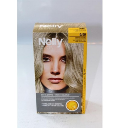 Hair coloring Nelly discoloration
