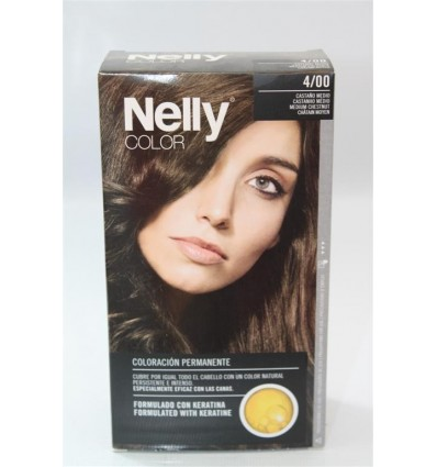 Coloration cheveux Nelly Nº4