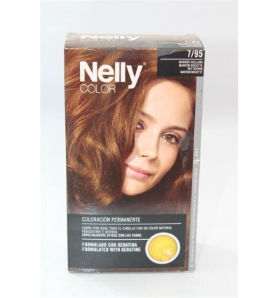 Coloration cheveux Nelly Nº7 95